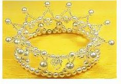 Como hacer corona de reyna para niñas : cositasconmesh