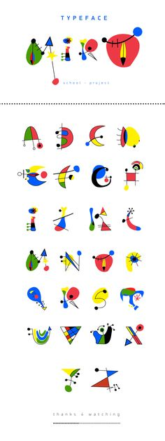 Miro Typeface - school project 2012 on Behance Paintings Famous, Famous Artists, Joan Miro Paintings, School Projects, Art Projects, Letras Cool, Tableau Pop Art, Montessori Art, Ecole Art