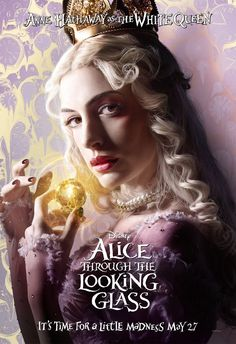 Anne Hathaway as (The White Queen) - Alice Through the Looking Glass (2016)