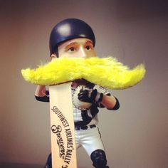 The first 10,000 fans in attendance at the 9/28 Brewers vs. Astros game will receive this Rally 'Stache, compliments of Southwest Airlines. #Brewers
