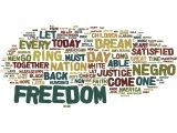 wordles! here's an example of one made for MLK day