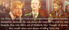 Fred and George are my favorites