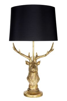 Living by Christiane Lemieux stag lamp at House of Fraser