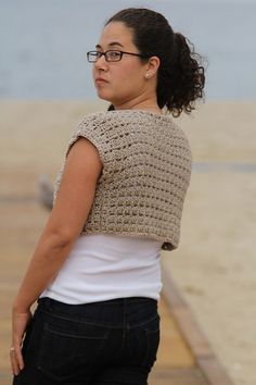 The Crochet Express: 2016 NatCroMo Blog Tour   Featured Designer: Susie Allen   Pattern: Sea Shore Shrug   #NatCroMo #blogtour #crochet #crochetdesigner