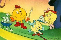 Pac Man 80's cartoon show