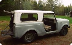 Our baby <3 International Scout 800 1967