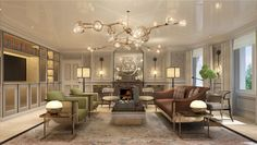 Situated on the southern edge of London's famous Hyde Park, the Mandarin Oriental Residences employ a 60-person dedicated hospitality team for its residents, who can enjoy other world-class amenities like an in-house screening room, wine cellars, and squash courts. The property is currently undergoing a renovation that is scheduled to be completed in mid-2018.