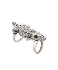 Alligator Knuckle Ring | FOREVER21 - 1000015793