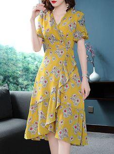 Street Chiffon Floral Print A Line Dress - #Chiffon #Dress #Floral #Line #Print #Street #Vestidosbonitos #Vestidoscortos #Vestidosde15 #Vestidosdefiesta #Vestidosdemoda #VestidosElegantes #Vestidosformales