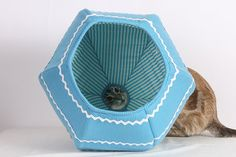 Easter Egg Cat Ball Silly Modern Kitty Bed by TheCatBall on Etsy, $74.00