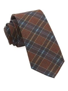 Pittsfield Plaid Ties - Burnt Orange | Ties, Bow Ties, and Pocket Squares | The Tie Bar