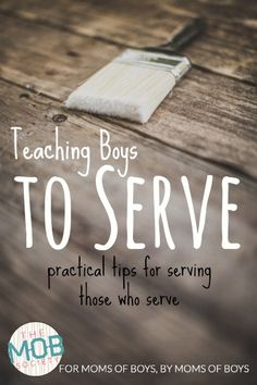 practical tips for serving those who serve
