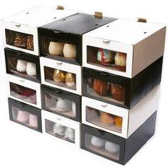1000 images about organizadores de zapatos on pinterest - Manualidades con cajas de zapatos ...