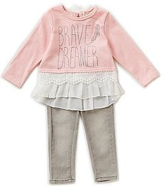 Jessica Simpson Baby Clothes Magnificent Jessica Simpson Baby Girls Newborn9 Months Featherprint Coverall Design Decoration