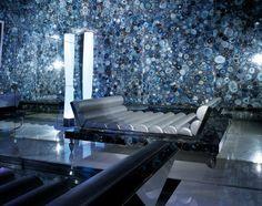 agate backlit wall tile: multicolor PRECIOUSTONE COLLECTION : BLUE AGATE ANTOLINI LUIGI & C.