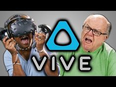 Elders React to the HTC Vive with Joy, Fear, and Disbelief at How Far Technology…
