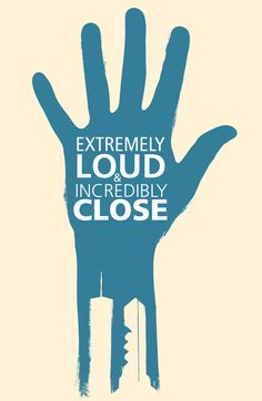 Extremely Loud & Incredibly Close (2011) ~ Minimal Movie Poster by Derek Eads ~ 2012 Oscar Nominees #amusementphile