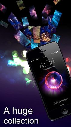 Dynamic Wallpapers 3D, Parallax Live Theme on Lock Screen and Home