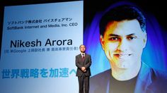 SoftBank President Nikesh Arora Plans to Step Down
