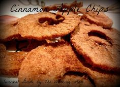 Cinnamon Apple Chip Recipe via @mandipie4u