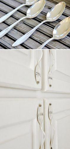Spoon Cabinet Handle