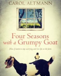 Thinking about a tree-change? This book will have you laughing out loud at the surprises country life can throw your way!  #australianwriters #books #author #CarolAltmann #journalist #greatread #read3284 #goats #treechange #Tasmania #ruralreads #australia #blarneybooksandart #portfairy #warrambool @bluestonemag by blarneybooks http://ift.tt/1UokfWI