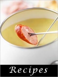 great list of all types of fondues and dippers for a fondue party