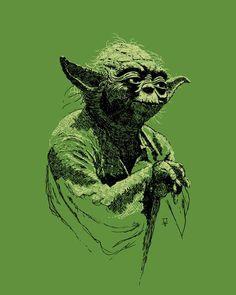 Danny Haas Crafts Magnificent 'Star Wars' and Superhero Prints [Art] Star Wars Fan Art, Images Star Wars, Star Wars Clone Wars, Star Trek, Star Wars Poster, Geek Art, Illustrations, Geek Stuff, Art Prints