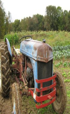 Muddy Old Ford Tractor