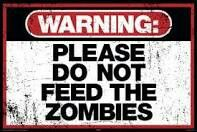 Warning Please Do Not Feed the Zombies Art Poster Print Poster Print, PDecorate your home or office with high quality posters. Warning Please Do Not Feed the Zombies Art Poster Print is that perfect piece that matches your style, interests, and budget. Zombie Halloween, Art Zombie, Halloween Party, Halloween Decorations, Halloween Poster, Halloween 2015, Halloween Crafts, Happy Halloween, Zombie Pics