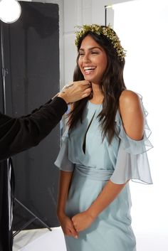 Behind the scenes at our bridesmaid photoshoot