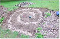 Bau Anleitung für meine super hübsche KräuterSpirale Teil I #DIY,#Garten