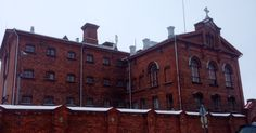 Vaasanlinna- a prison situated in a beautiful place by the sea.