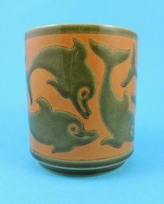 Hornsea Pottery - Dolphin Mug