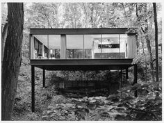 """space: """"the ferris bueller house"""" architects: a. james speyer and david haid (1953). just noticed it's on sale for $1.65M in highland park, IL"""