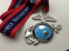 Marine Corps Marathon Medal This is my number one bucket list marathon. I cannot wait to run it. Running Medals, Running Race, Marathon Running, Running Plans, Sports Medals, Virtual Run, Run Runner, Marine Corps, Marine Mom