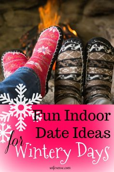 Fun indoor date ideas when, Baby, it's cold outside. Six fun date ideas you'd actually do instead of 80 you wouldn't. #dateideas #winterfun #family #wifesense