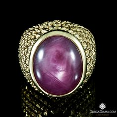 Natural Ruby 19.18 ct on Yellow Gold 22K Ring | Rings | DurgaDiama.com