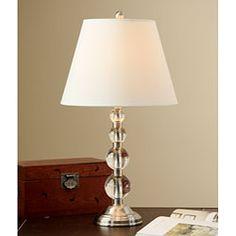 Crystal Lamp Base to go with Horizontal large stripe shades $78.99