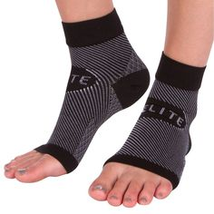 Ankle Sleeve Support Wrap (1 Pair) Best Brace Dorsal Night Splint Boot for Swollen Sprained Broken Ankles >>> Want additional info? Click on the image.