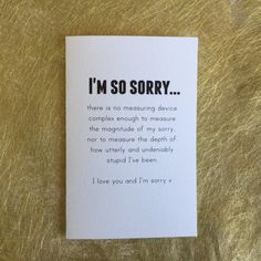 Sorry card for best friend apology cards sorry card for girlfriend best friend card bestie card im sorry card by giftdesigns on etsy m4hsunfo