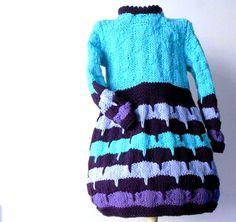 knit dress for baby girls sweater dress in merino by cosediisa