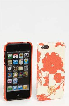 Tory Burch 'Robinson' Print iPhone 5 Case available at #Nordstrom