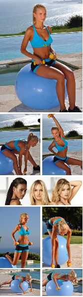 Total body workout. 9 most effective exercise ball moves. Try these for a month transform your body.Do 3 times a week 15 reps with 30 -60 seconds break in between. Repeat the circuit 2-3 times.Watch the video here: www.youtube.com/...