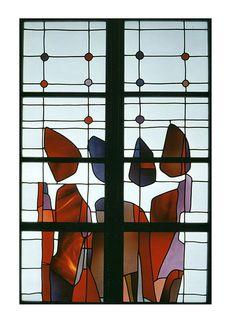 Moderne Glasmalerei « Gustav van Treeck