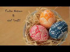 ▶ Ostereier ganz einfach selbst gestalten - (Serviettentechnik) - YouTube