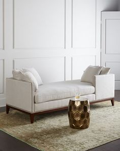 Teagan Double Chaise at Neiman Marcus.