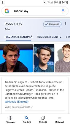 On Stranger Tides, Heroes Reborn, Robbie Kay, Pirates Of The Caribbean, Peter Pan, Actors, Peter Pans, Actor