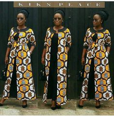Trend Alert: Ankara Kimono Styles To See. - Ankara collections brings the latest high street fashion online African Print Dress Designs, African Print Dresses, African Print Fashion, Africa Fashion, African Dress, Ankara Designs, Ankara Dress, Ankara Styles, Maxi Dresses