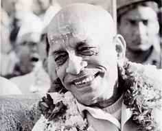 """I am the servant of everyone."" Our position is to be dasa-dasanudasah–servant of the servant of the servant of Krsna. -His Grace A.C. Bhaktivedanta Swami Prabhupada"